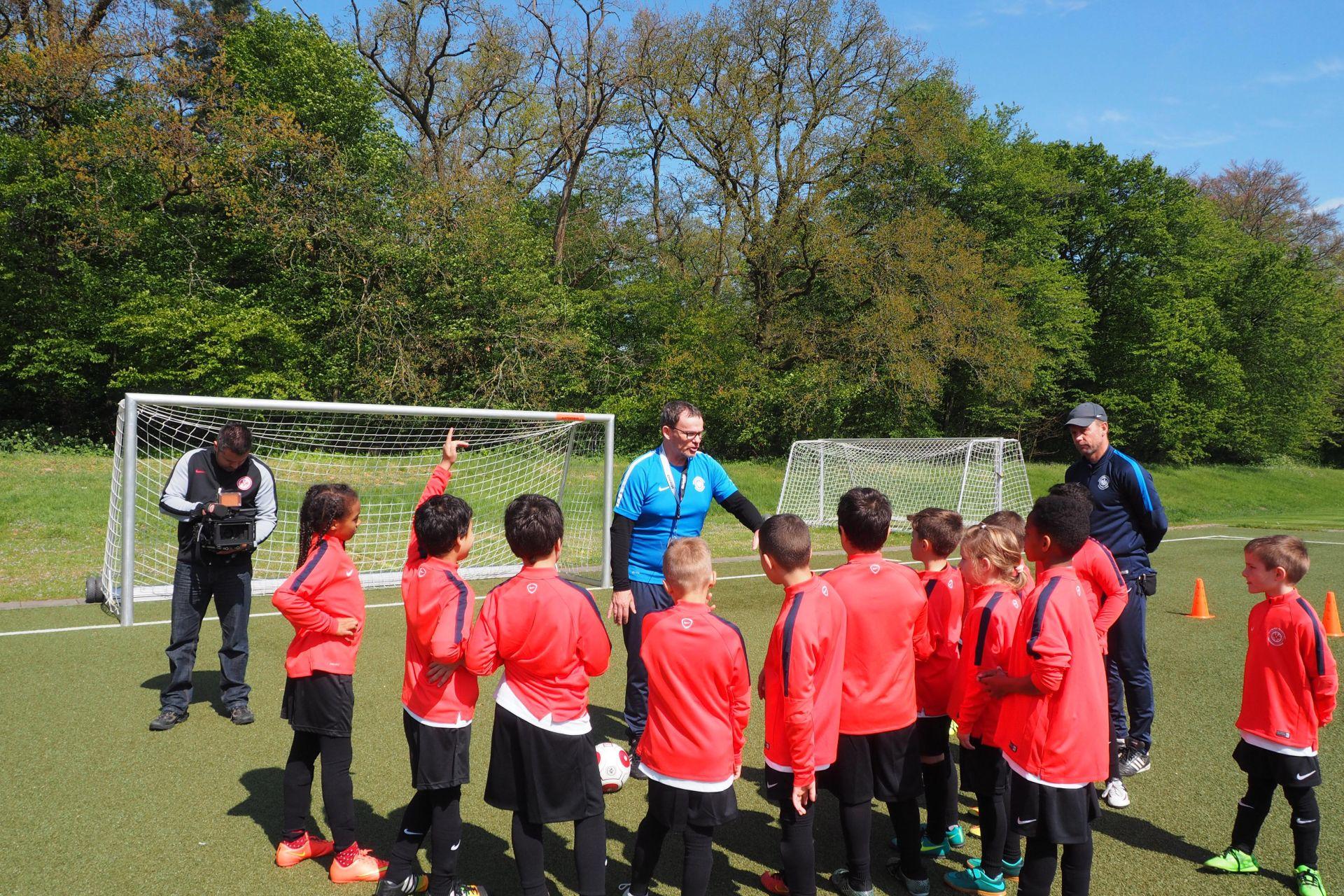 Fotos: Eintracht Frankfurt Fußballschule