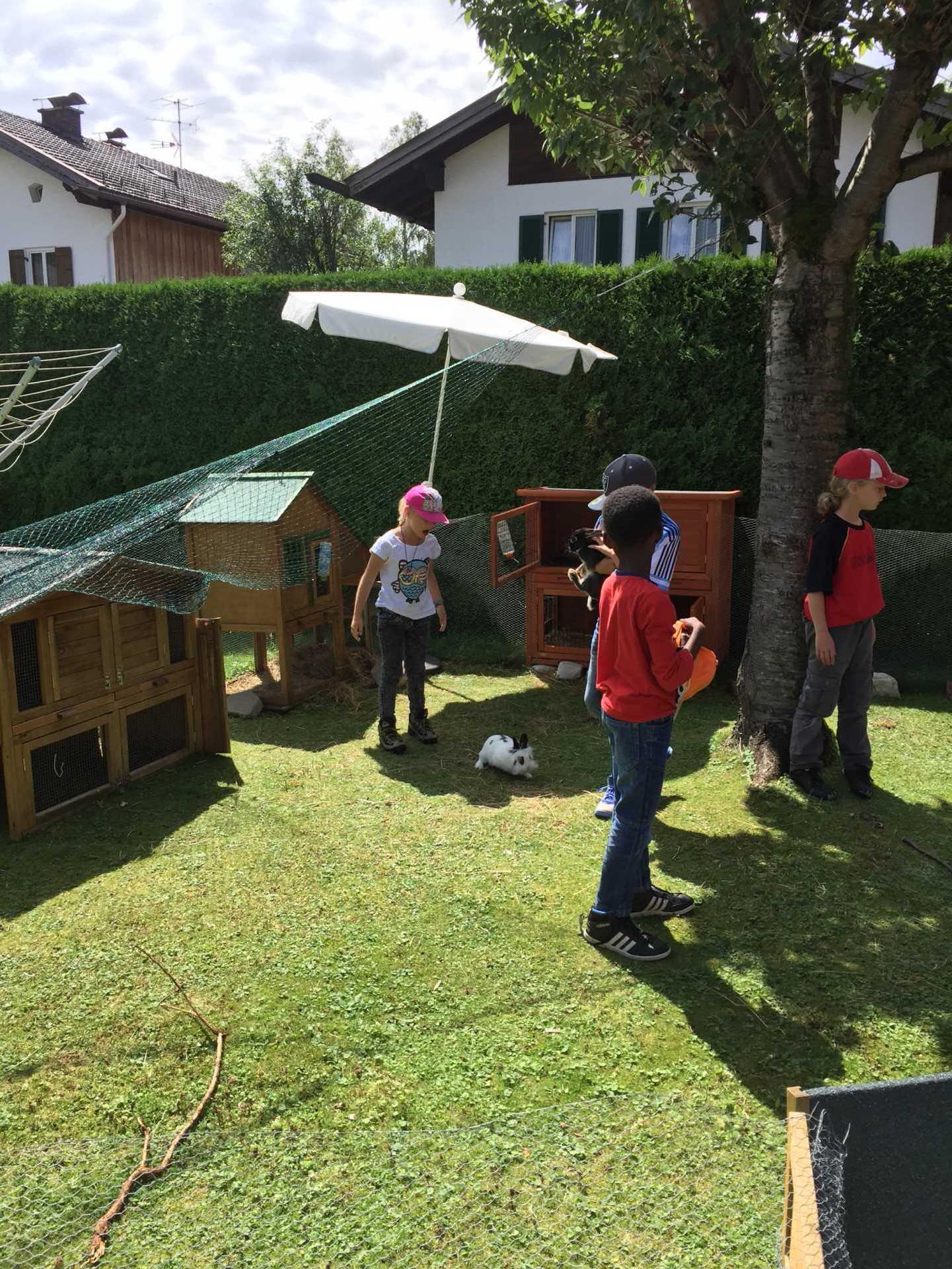 """""""s´Mauganest"""" ein heilpädagogische Kinderheim im Mittenwald"""